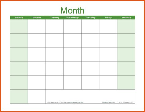 monthly calendar template word survey template words