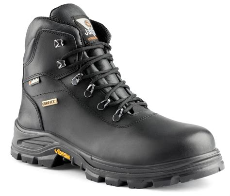 black leather gore tex boots