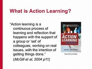 Action Learning Sets: An Innovative Way to Facilitate ...