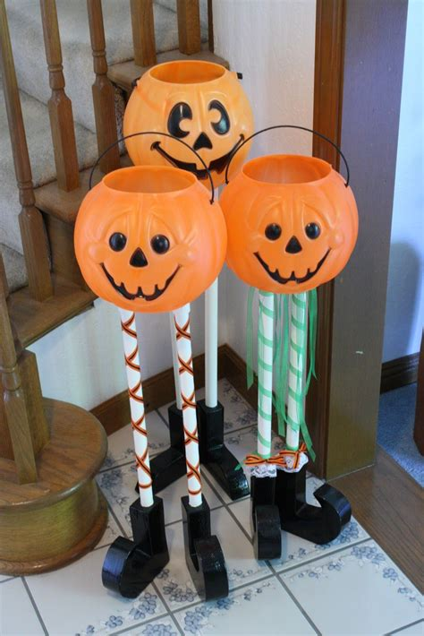 halloween candy buckets homemade halloween decorations