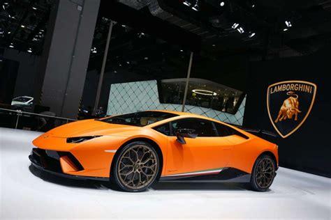 Lamborghini Huracan Performante E Aventador S Al Salone Di