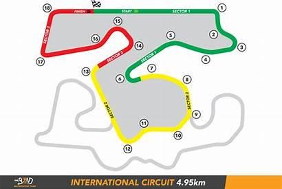 Track Bend Circuit Motorsport Park Map Supercars