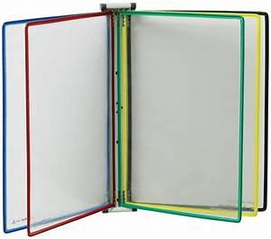 Porte Document Mural : ensemble mural magn tique 10 prot ge documents color s a4 seton fr ~ Teatrodelosmanantiales.com Idées de Décoration