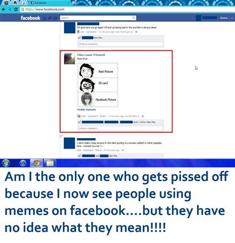 Memes Images Facebook - quotes about people using facebook quotesgram