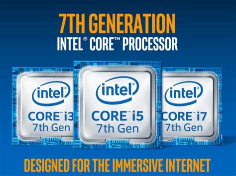 Kaby Lake Intel® I Core™ Un Confronto Con L'architettura