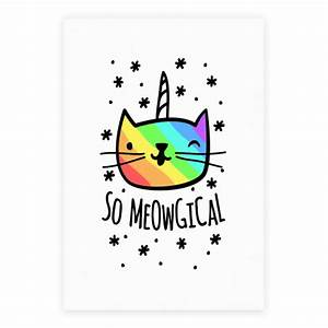 So Meowgical - Posters - HUMAN