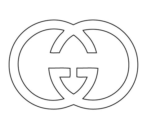 Kleurplaat Gucci Logo gucci cutter in 2019 cutters sts gucci cookie