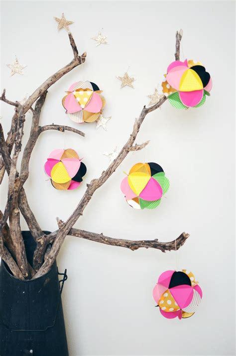diy paper ball ornaments allfreechristmascraftscom
