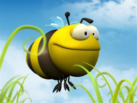 bee funny wallpapers cartoon projection screen
