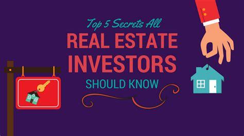 estate investors secrets know investor should shares
