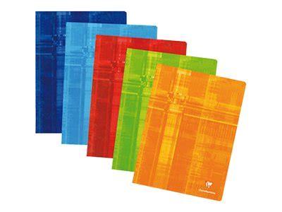 maroquinerie de bureau clairefontaine cahier 24 x 32 cm 48 pages grands