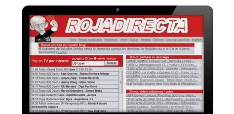 Rojadirecta present live football streaming links. ¿Van a cerrar Rojadirecta?