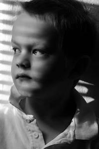 Sad Child - Black And White Free Stock Photo - Public ...