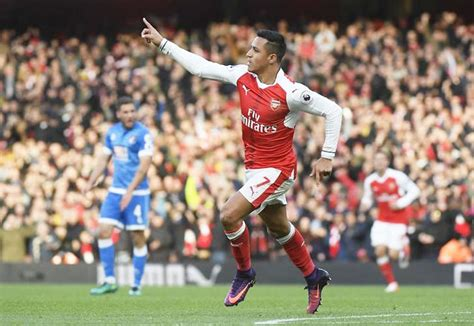 EPL: Sanchez's double for Arsenal ends brave Bournemouth's ...