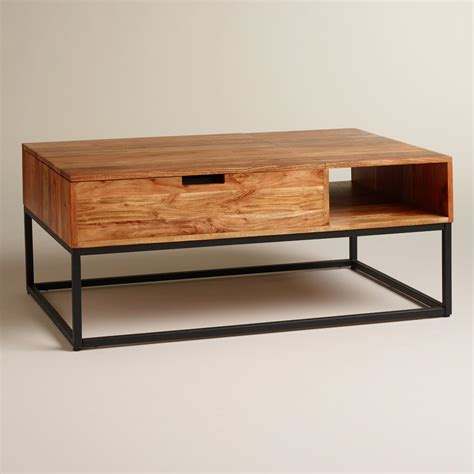 table and storage wood silas storage coffee table world market