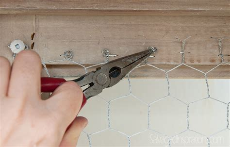 replacing kitchen cabinet doors past meets present trend replace glass with chicken wire