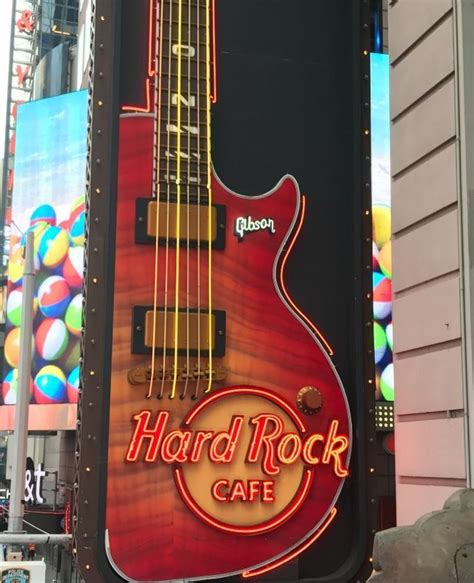 hard rock cafe york citytimes square review