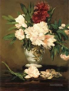Pfingstrosen In Der Vase : pfingstrosen in einer vase eduard manet impressionistische blumen gem lde mit l zu verkaufen ~ Buech-reservation.com Haus und Dekorationen
