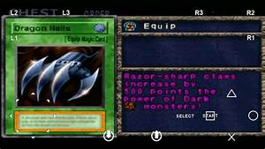 Yu Gi Oh Forbidden Memories 2 Ultimate Equip Dragon