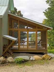Vermont Lake House - Rustic - Porch - burlington - by Jean