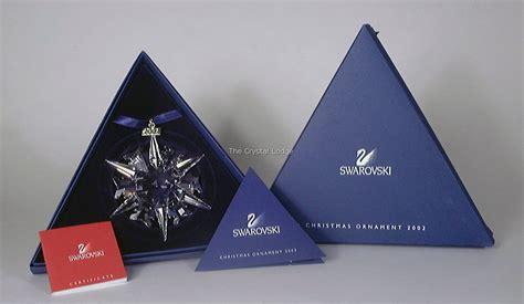 swarovski swarovski 2002 christmas ornament 288802