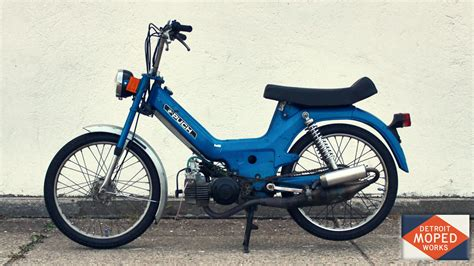 Blue Puch Maxi (SOLD) – Detroit Moped Works