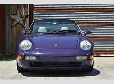 Amaranth Violet 1995 Porsche 911 Carrera Cabriolet