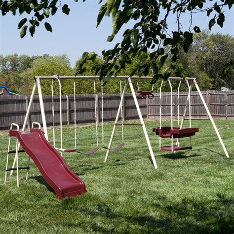 Swings Sets by Flyer Play Park Swing Set Swing Sets At Hayneedle