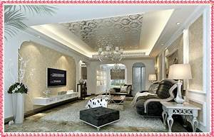 Home Decorating Ideas Wallpaper Designs Modern Living Room ...