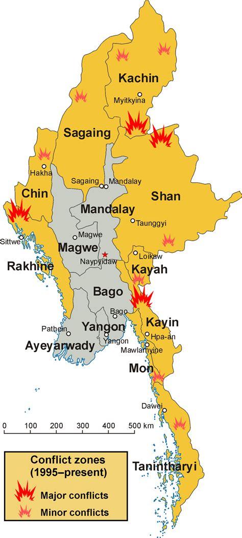 internal conflict  myanmar wikipedia