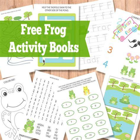 frog activity books itsy bitsy fun