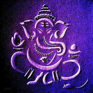 The gallery for --> Lord Ganesha Paintings Modern Hd