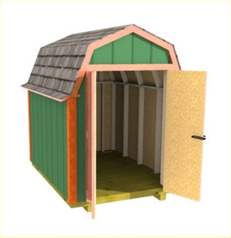 6 x 8 gambrel shed plans gambrel roof shed plans barn shed plans small barn plans