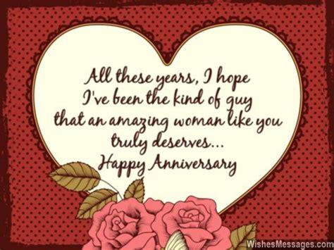 sweet wedding anniversary quotes  husband   love