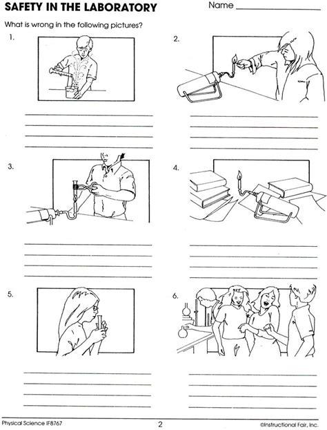 Lab Safety Worksheet Lee Keller  School  Pinterest  Labs, Lab Safety And Worksheets