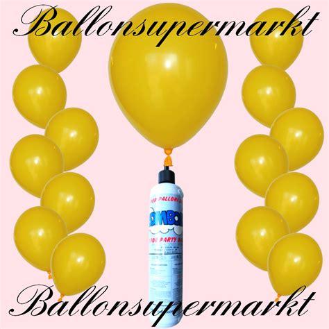 luftballon helium set luftballons helium set miniflasche luftballons in