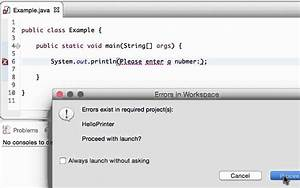 Compile, Time, Vs, Run, Time, Error, In, Java