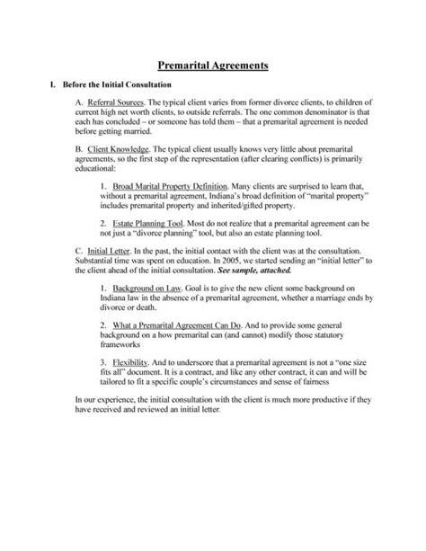 prenuptial agreement sample template business