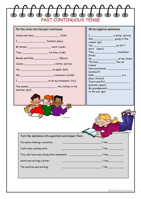 Past Continuous  Speaking Cards Worksheet  Free Esl Printable Worksheets Made By Teachers