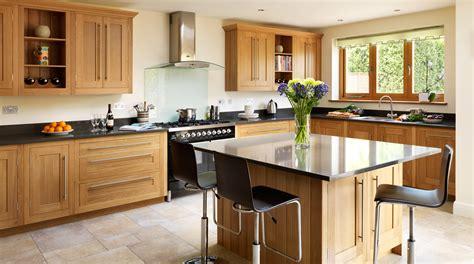 shaker light oak timber kitchen image 4 quotes