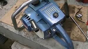 Homelite Super Xl Ao Blue Model  1971