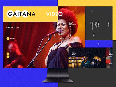 Gaitana Video by Perfectionism - Dribbble