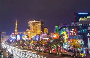 Busy Las Vegas Strip Wallpaper Wall Mural