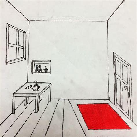 helpful art teacher draw  surrealistic room