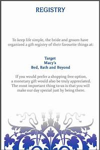 12 best images about wedding registry wording ideas on With example of wedding registry cards
