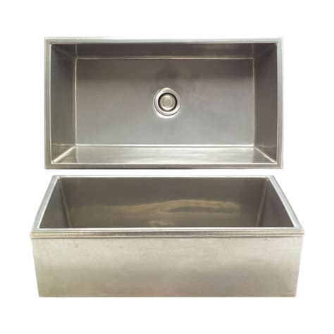kitchen sink hardware reservoir apron front sink ks3620 rocky mountain hardware 2737