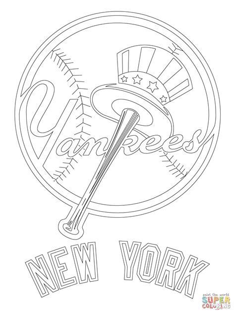york yankees logo super coloring painted stones