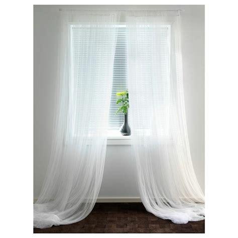 Gardinen Bei Ikea by Ikea Lill 3m White Sheer Net Curtains Pair Of 2