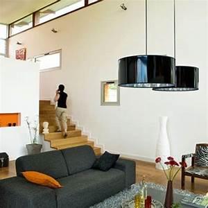 un escalier dans le salon cote maison With escalier entre cuisine et salon