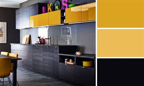cuisine gris jaune quelles couleurs se marient avec le gris 3 cuisine bleu